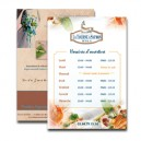 Flyers ou Affiches A4 (210x297 mm)